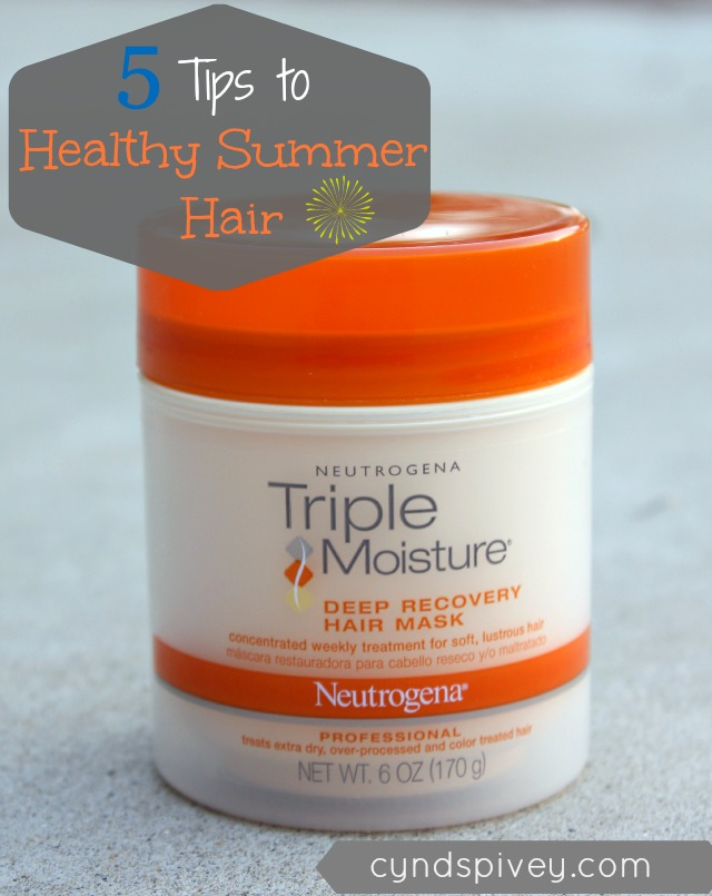 5 Tips To Healthy Summer Hair