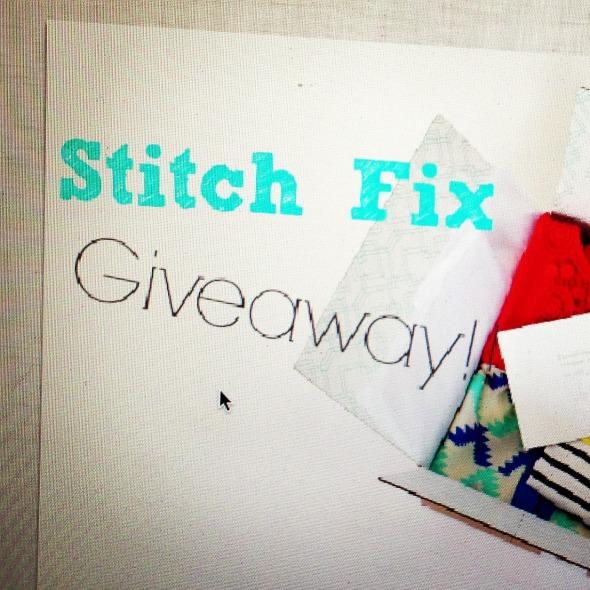 Stitch Fix Winner and Some Instagram!