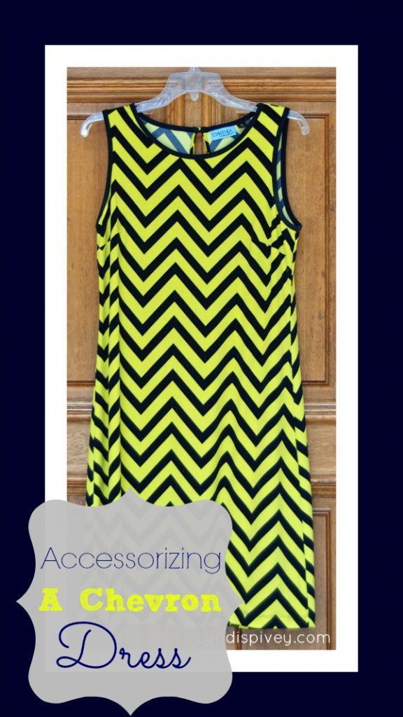 Accessorizing a Chevron Dress