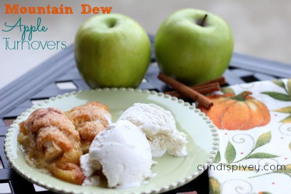Mountain Dew Apple Turnovers