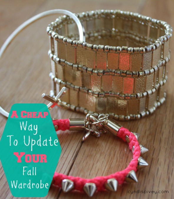 A cheap way to update your fall wardrobe