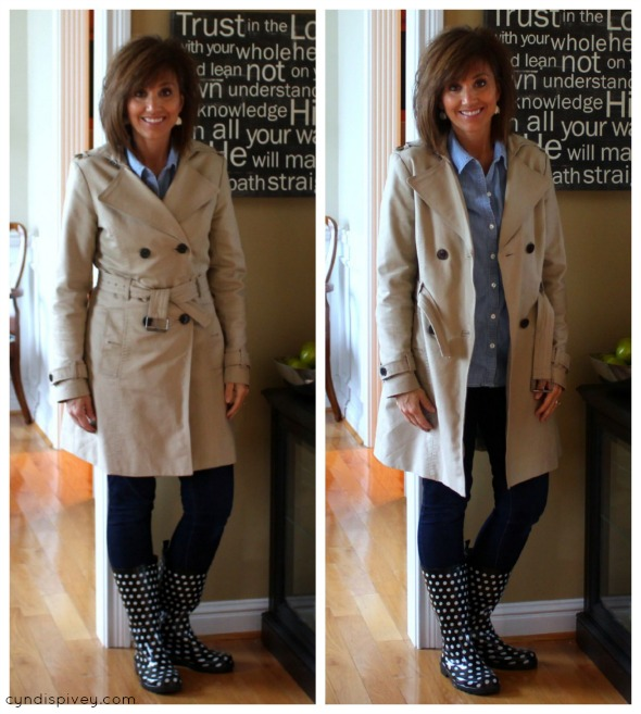 Building Your Fall Wardrobe {trench coat}