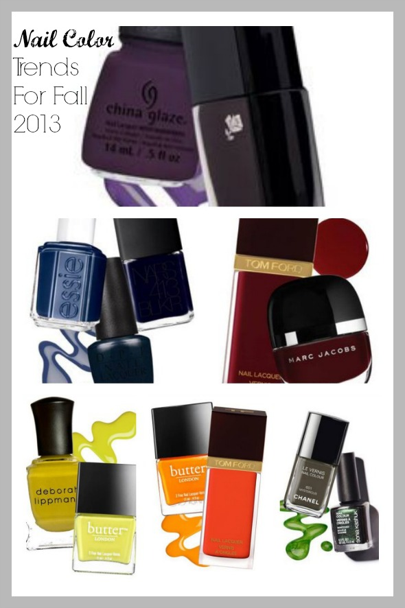 Nail Color Trends For Fall 2013