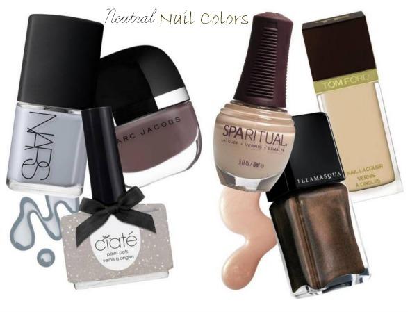 Neutral Nail Color