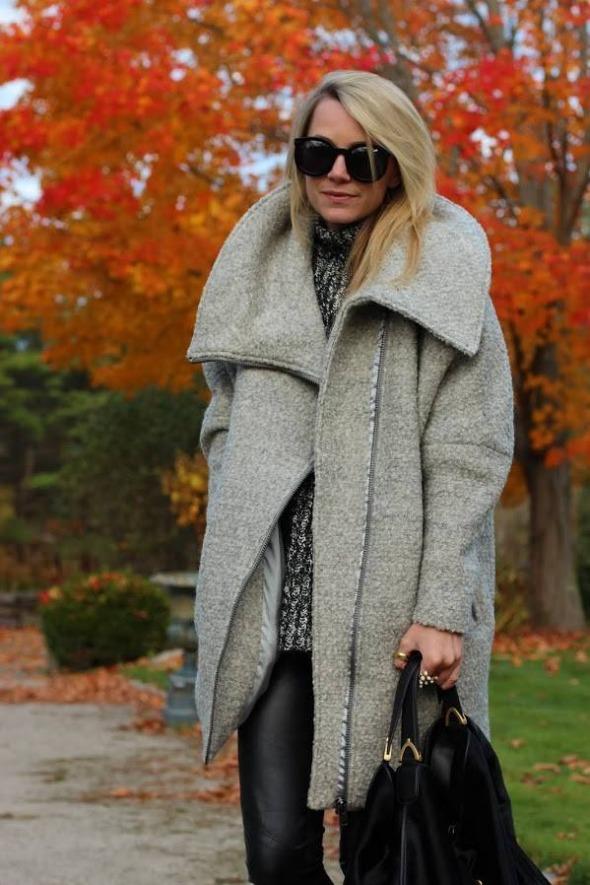 over sized coat