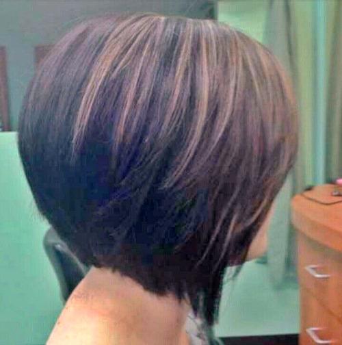 The Angled Bob Hairstyle Cyndi Spivey