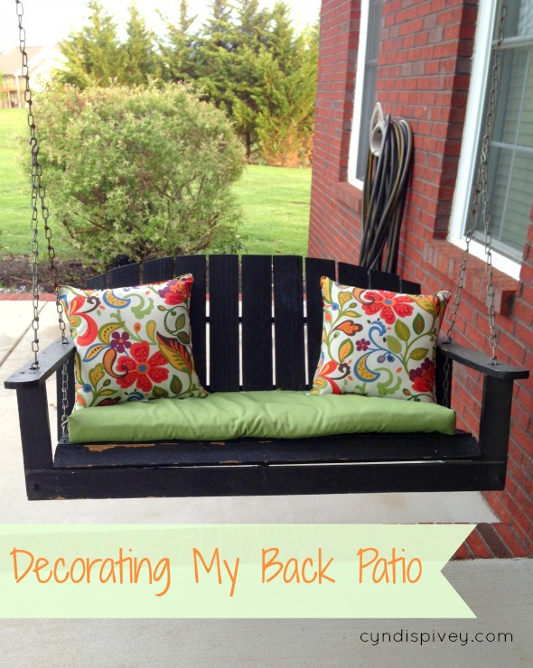 decorating my back patio