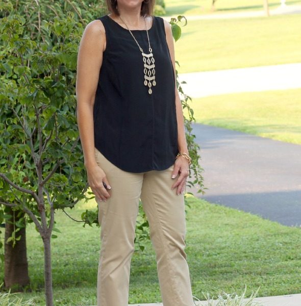 Summer Fashion-Black & Khaki