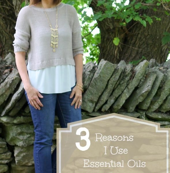 3 Reasons I Use Essential Oils For Menopause