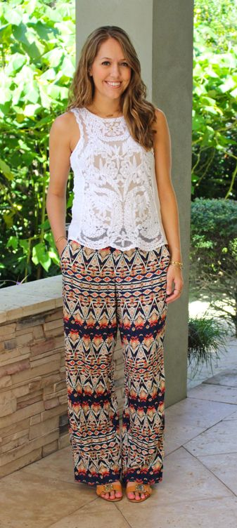 How To Rock the Palazzo Pant