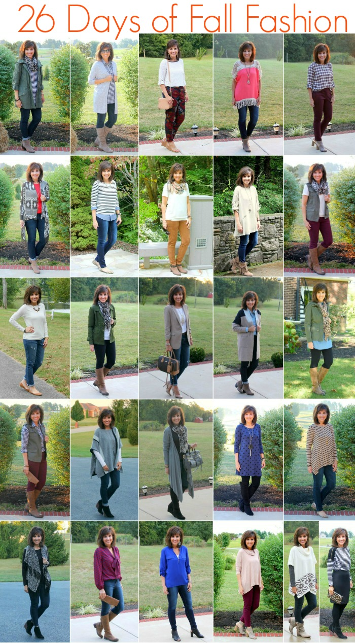 26 days of fall outfits