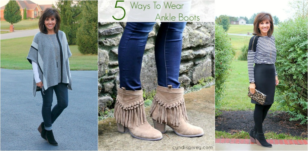 216c7aa083a 5 Ways To Wear Ankle Boots - Cyndi Spivey