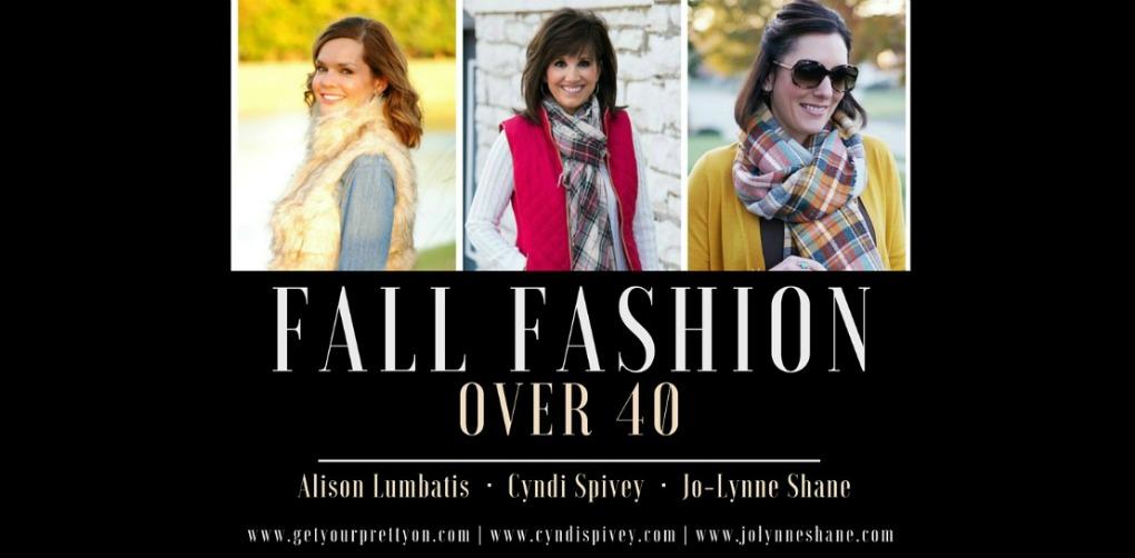 Fall fashion over 40