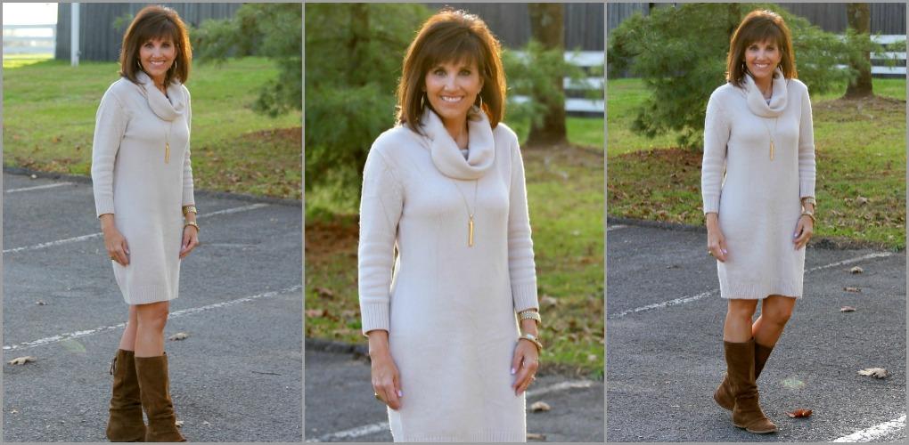 Classic SweaterDress-25 Days of Winter Fashion (Day 5)