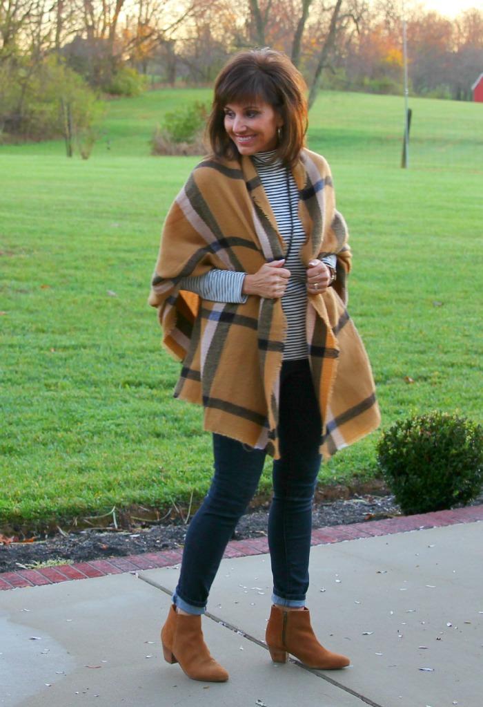 Blanket Scarf-25 Days of Winter Fashion (Day 7)