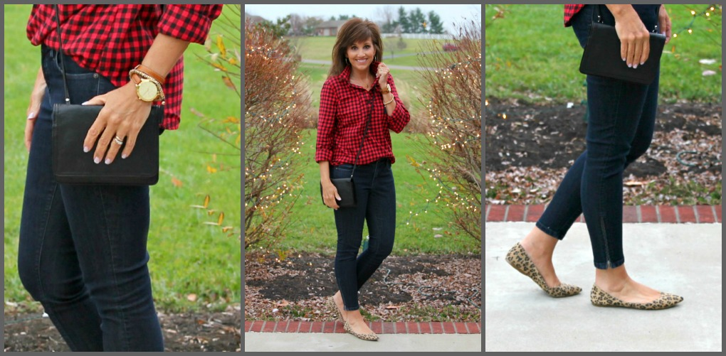 Mixing Patterns on Day 23 of 25 Days of Winter Fashion