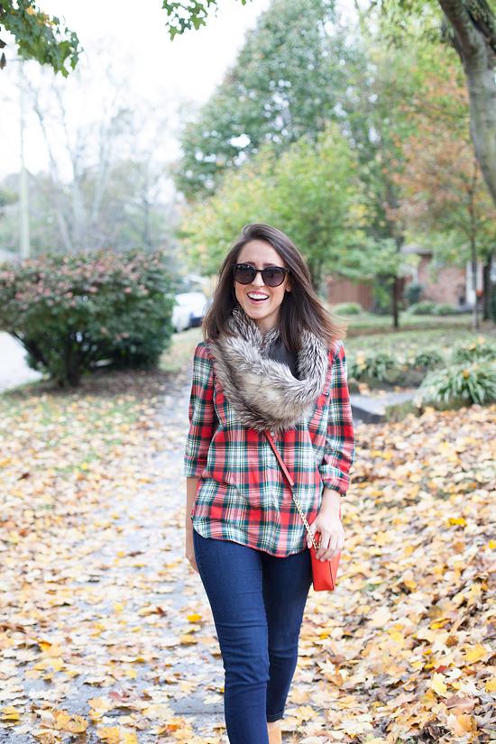 casual plaid outfit for Fall_6
