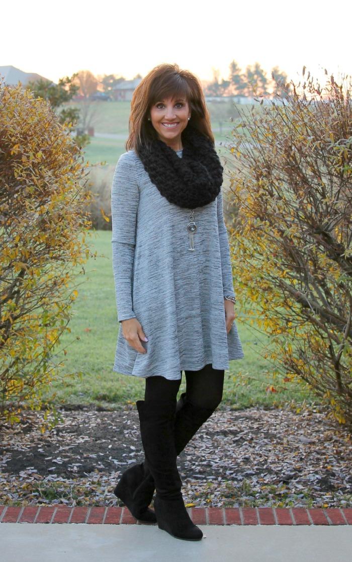 gray dress 3