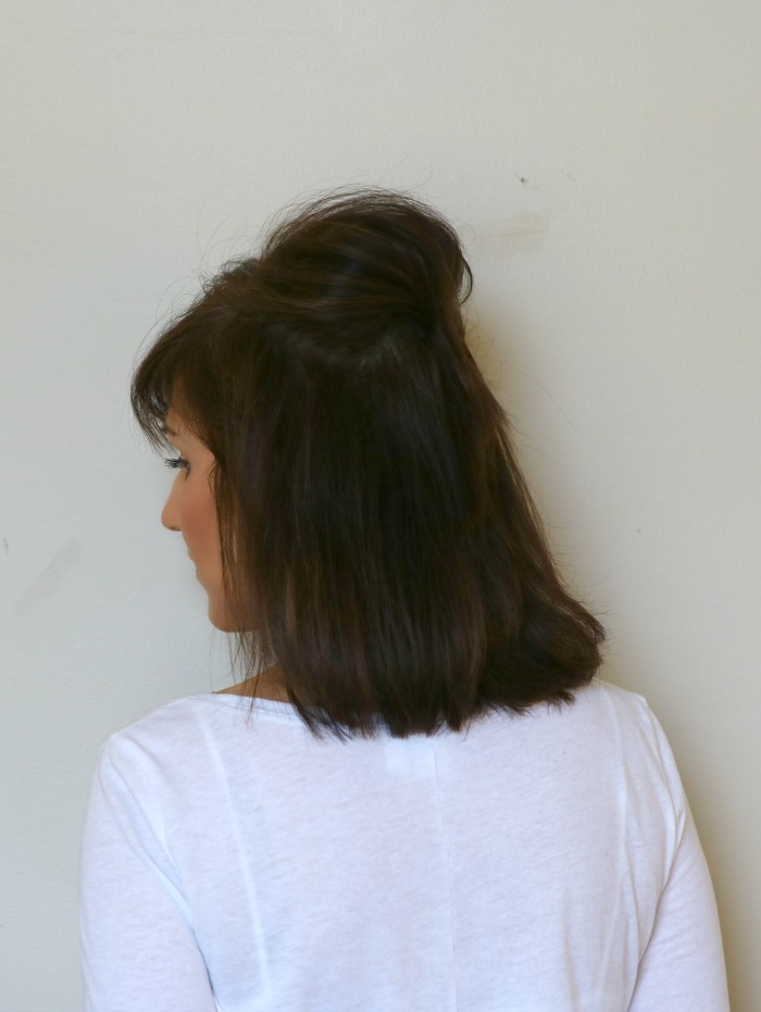 How To Do A Half Up Hairstyle