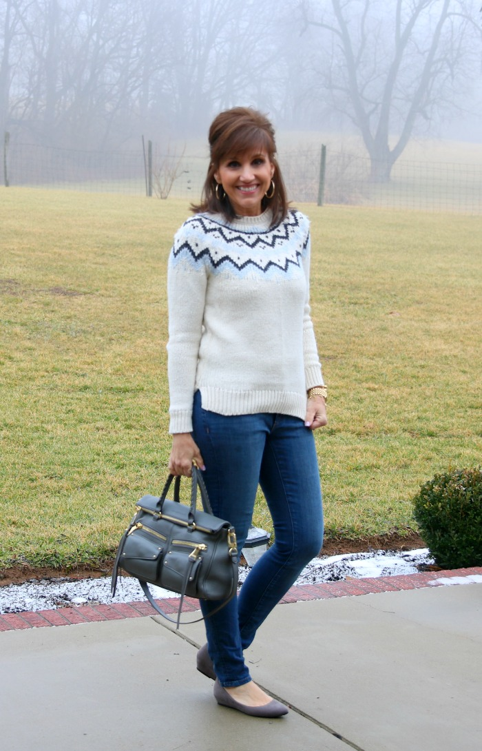 Casual Sweater & Jeans -Winter Fashion