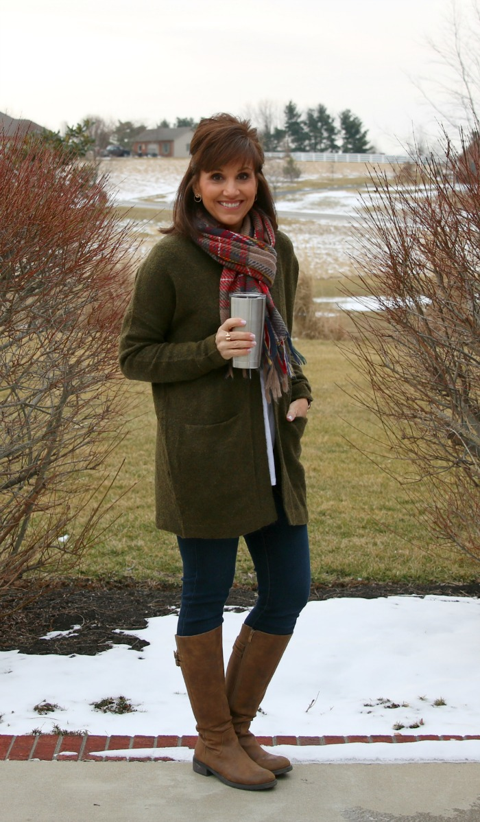 Cold Weather Fashion-Oversized Sweater