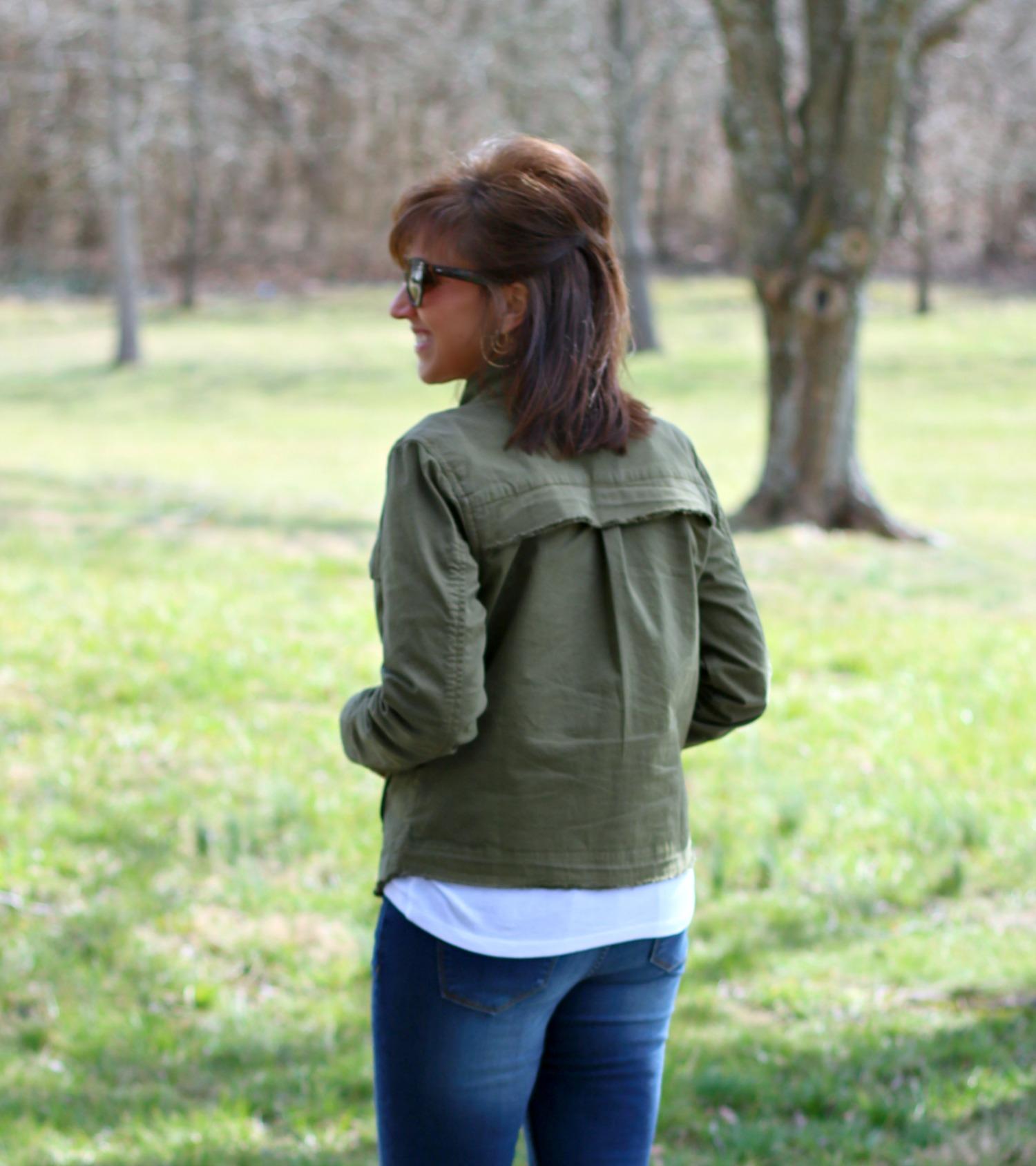 27 Days of Spring Fashion: Utility Jacket