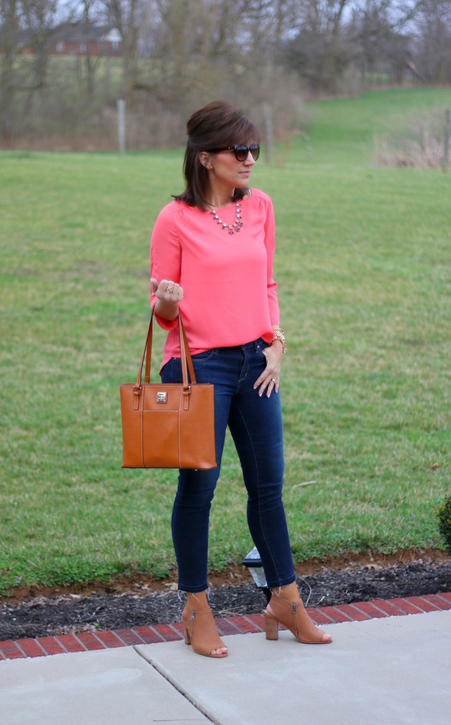 27 Days of Spring Fashion: Classic Boatneck Blouse
