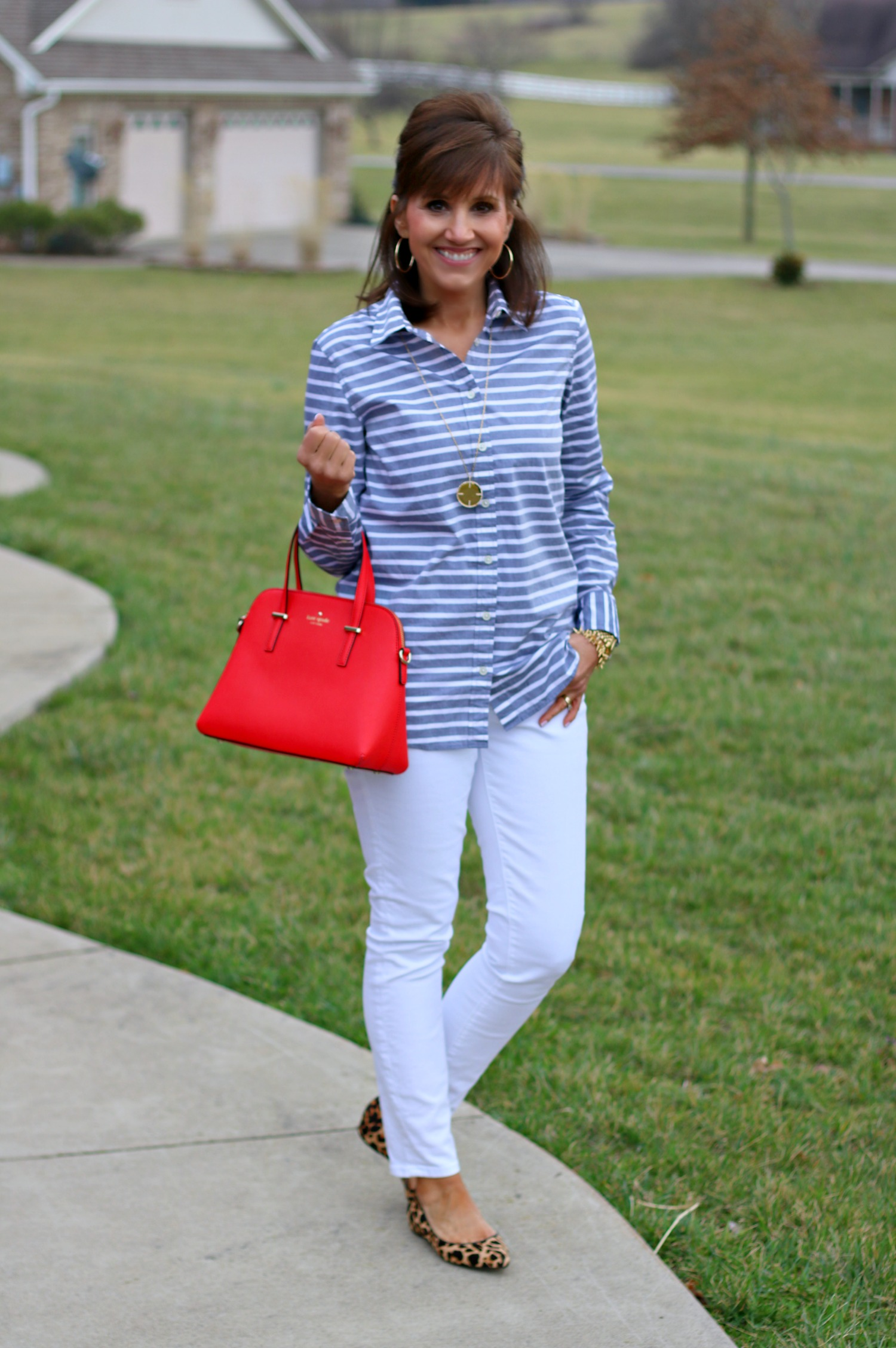 27 Days of Spring Fashion: Pop of Red