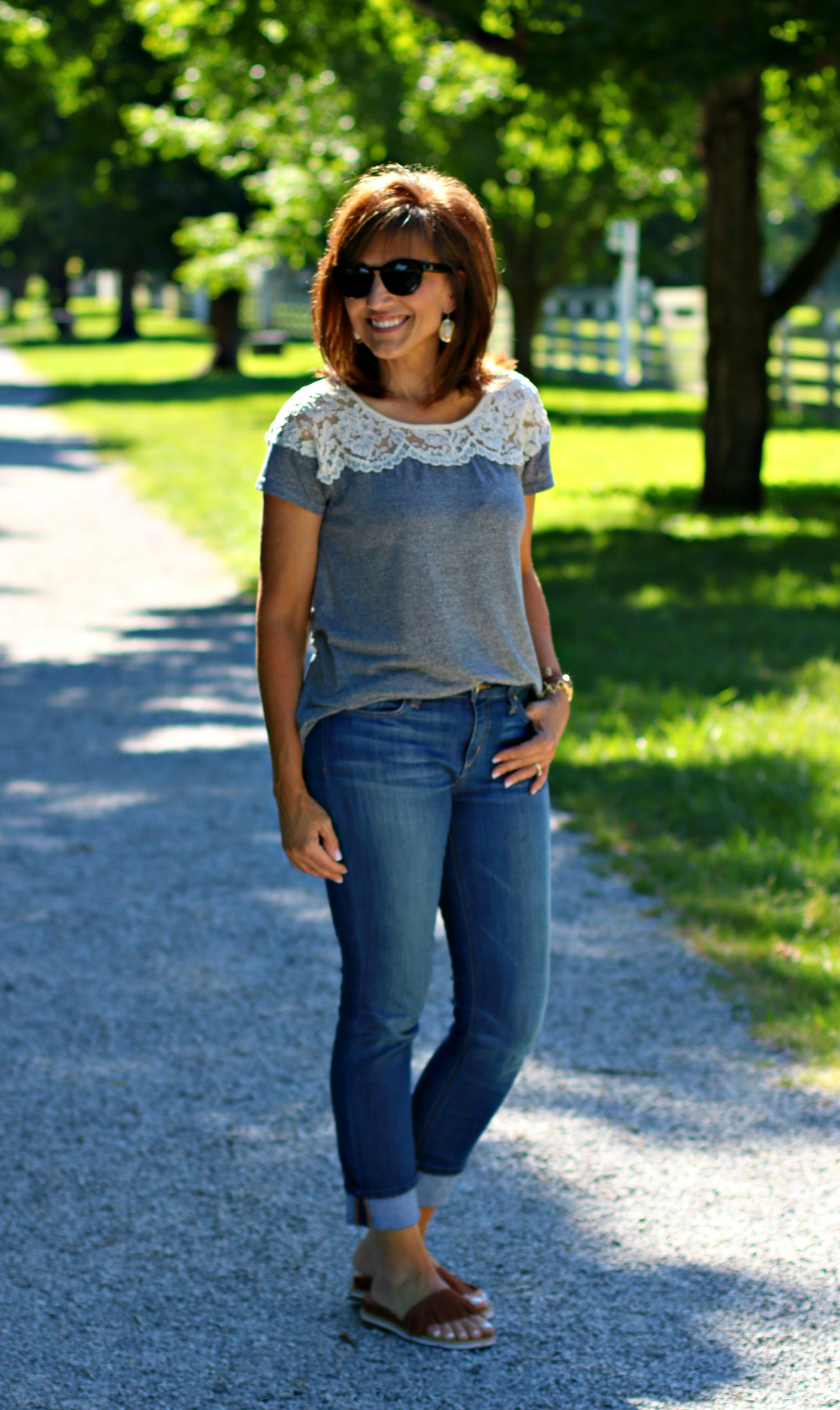 22 Days of Summer Fashion-Weekend Casual Outfit - Cyndi Spivey