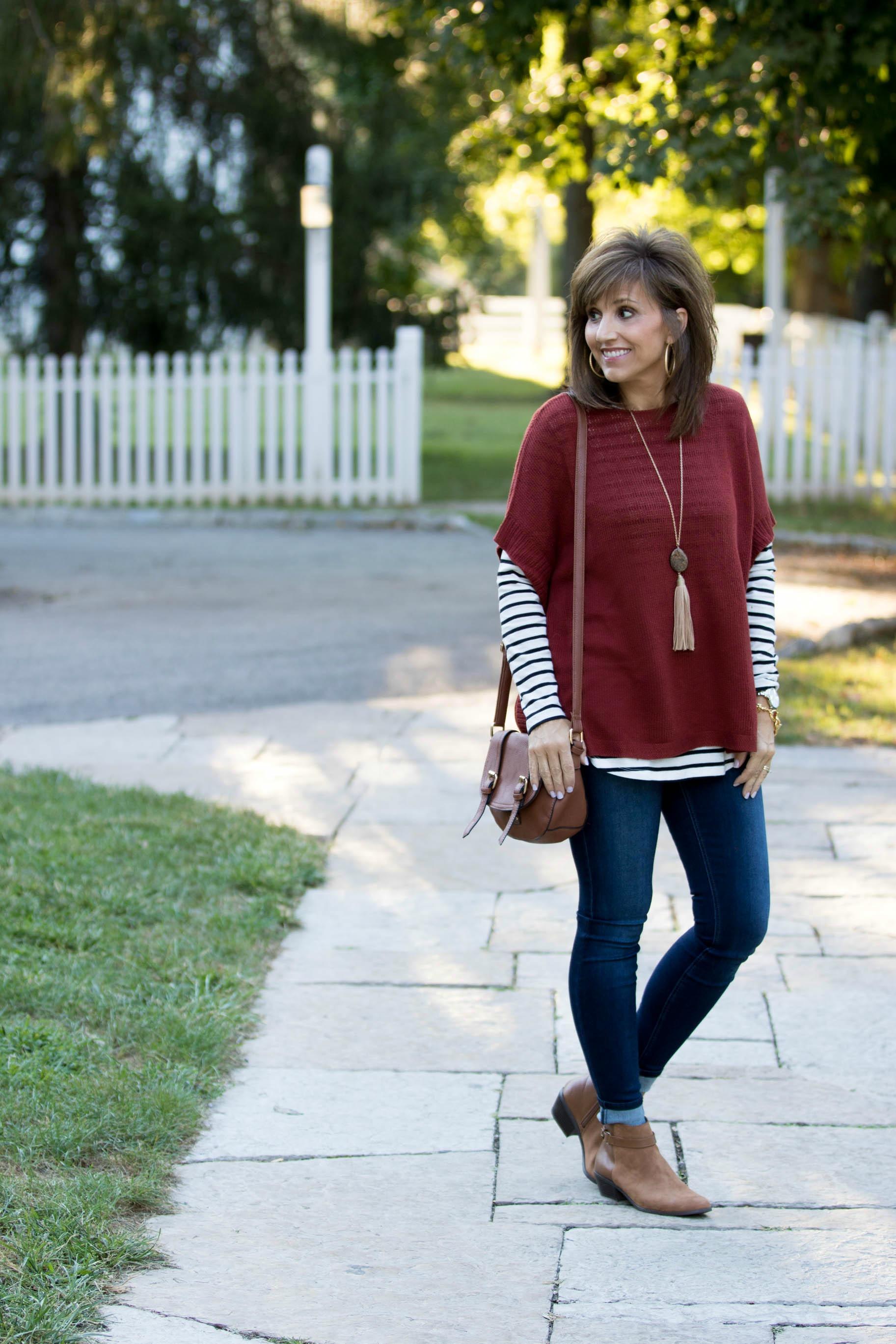 burgundy-sweater