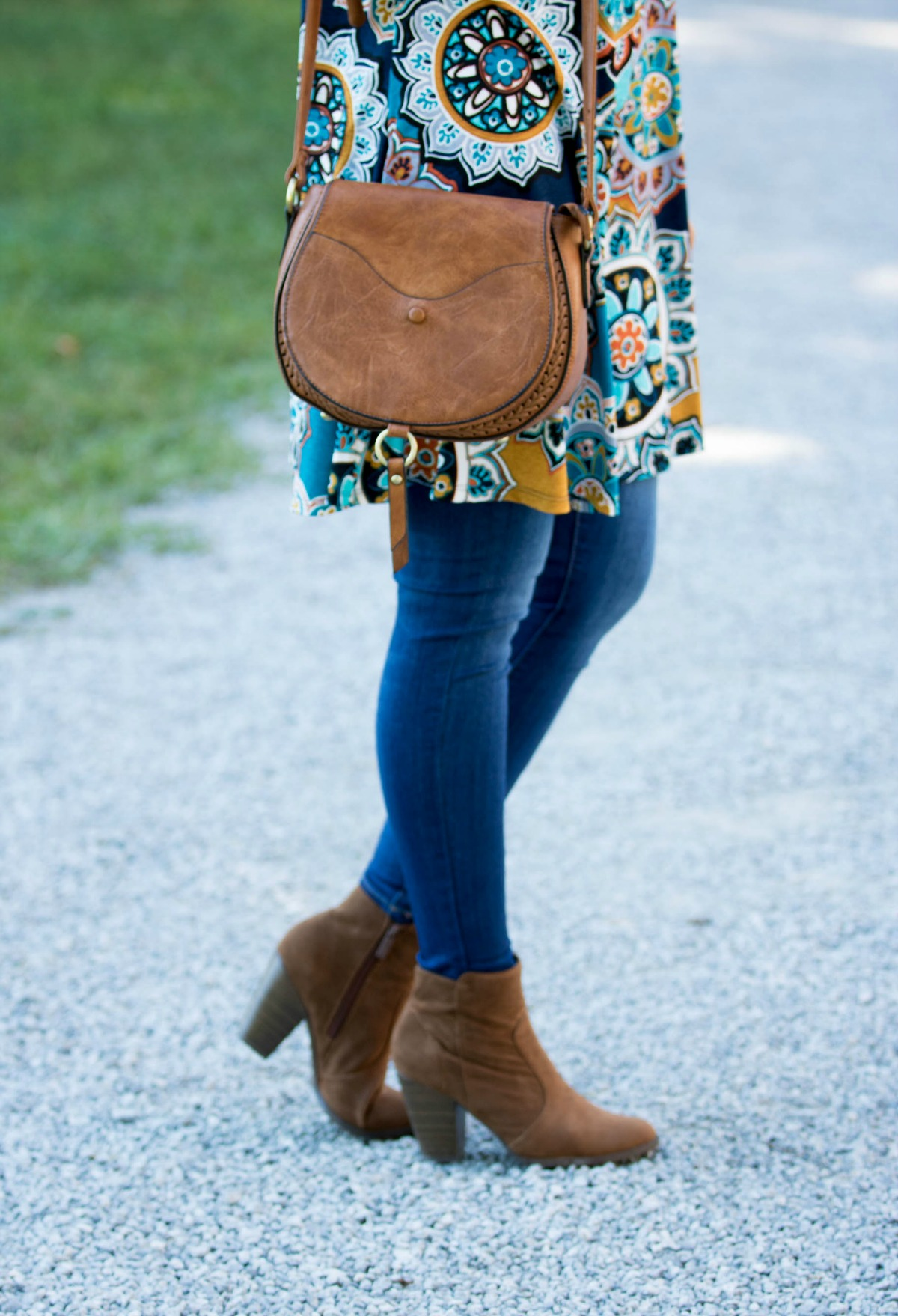 Fall Fashion-Floral Tunic