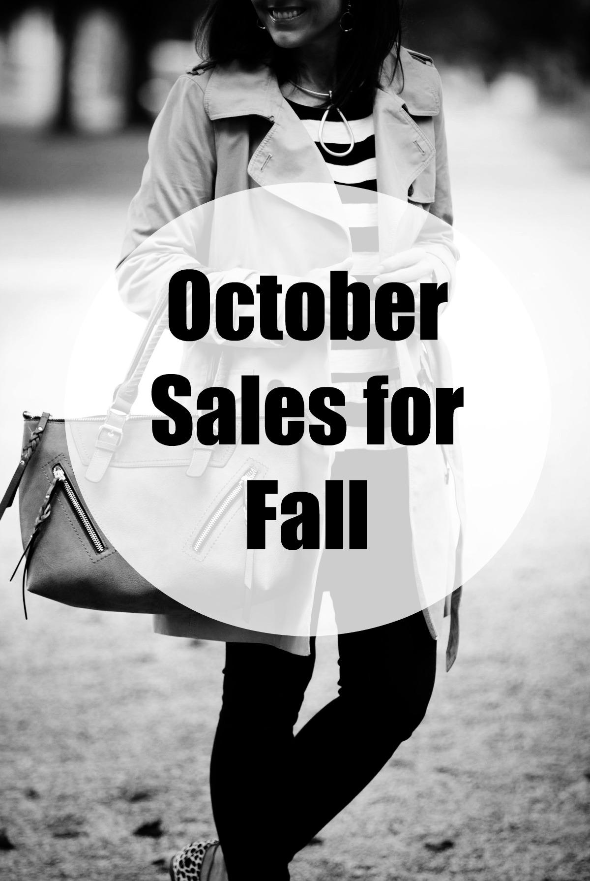 October Fall Sales
