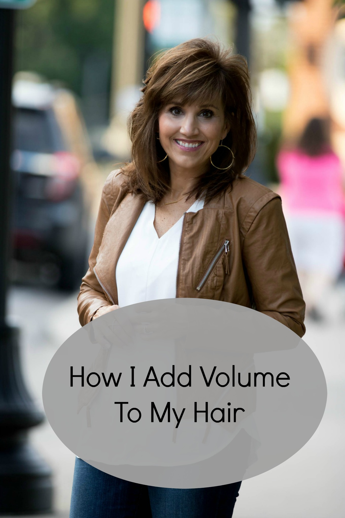 Fashion & Beauty blogger, Cyndi Spivey, shares how she adds volume to her hair.