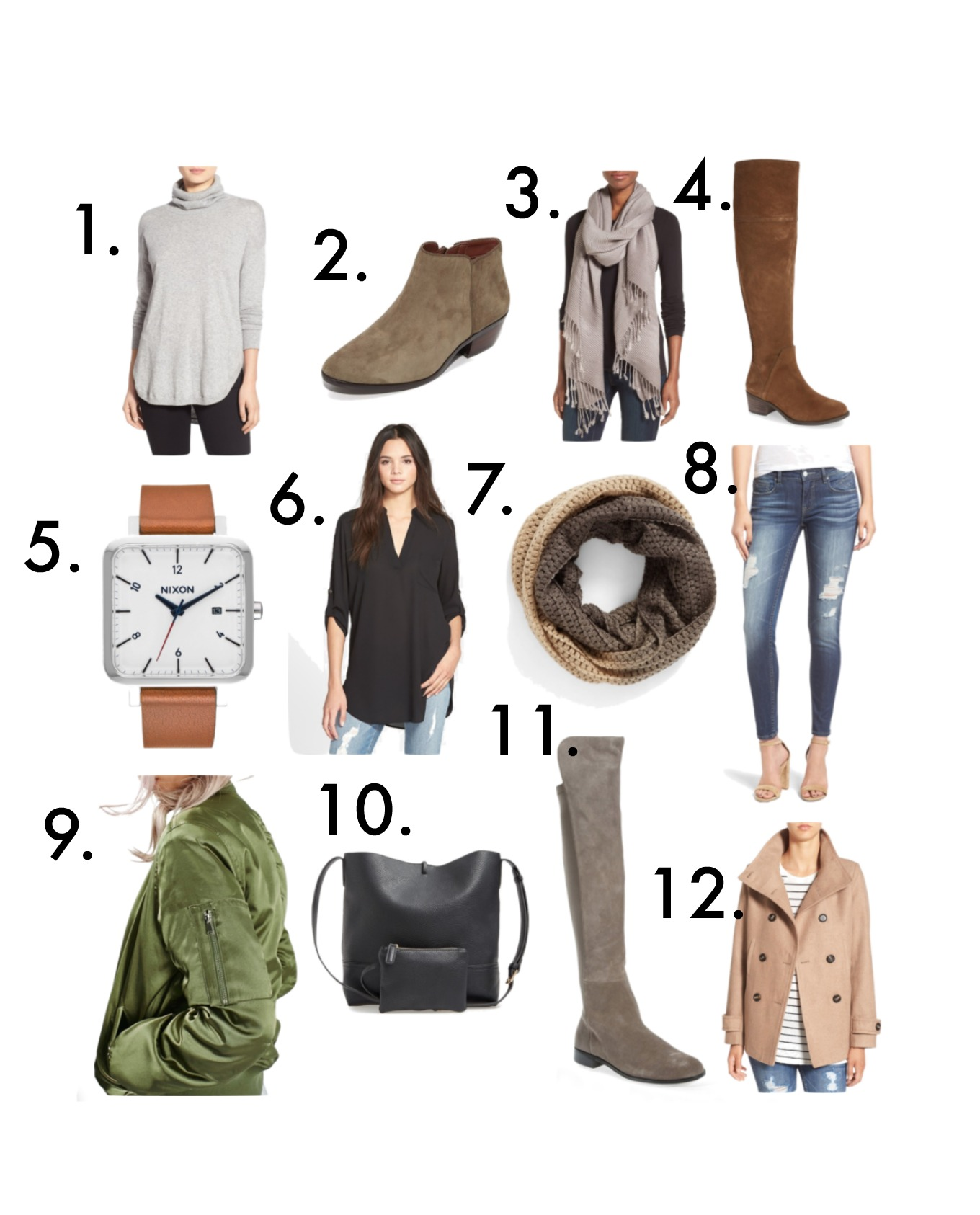 Fashion blogger, Cyndi Spivey, shares some of her current fall favorites.