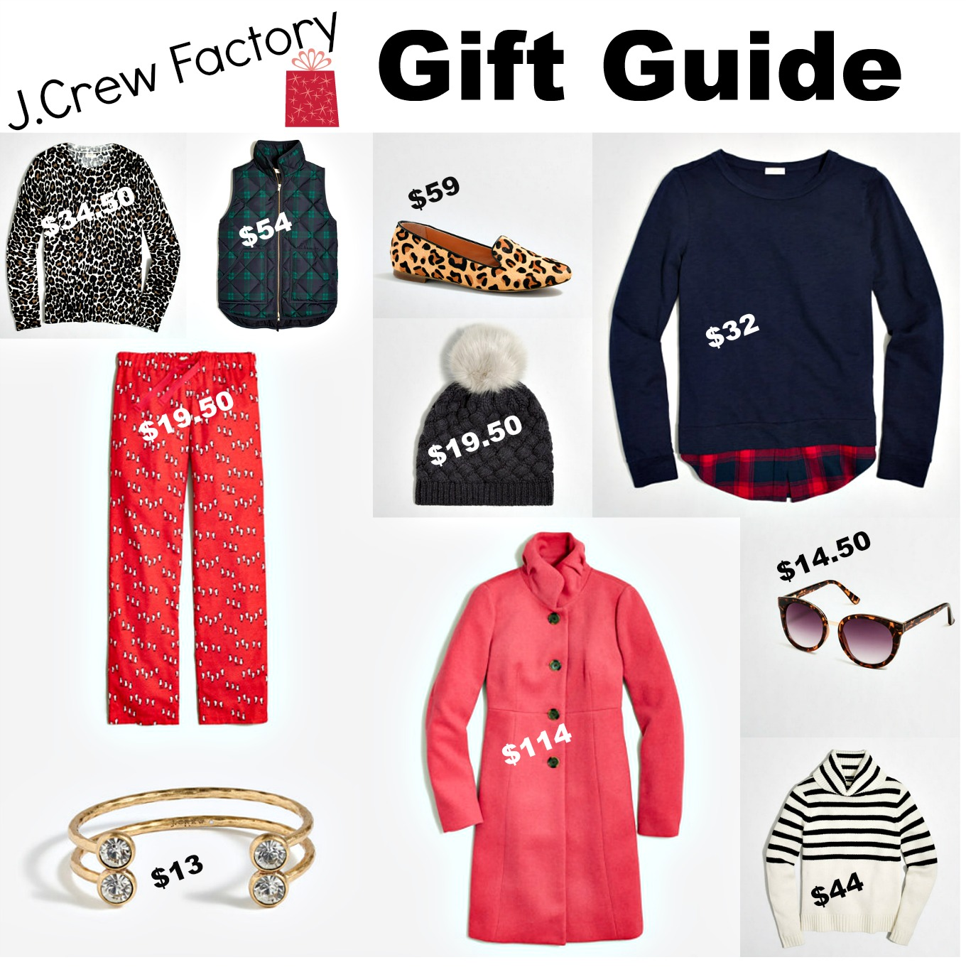 J.Crew Factory Gift Guide