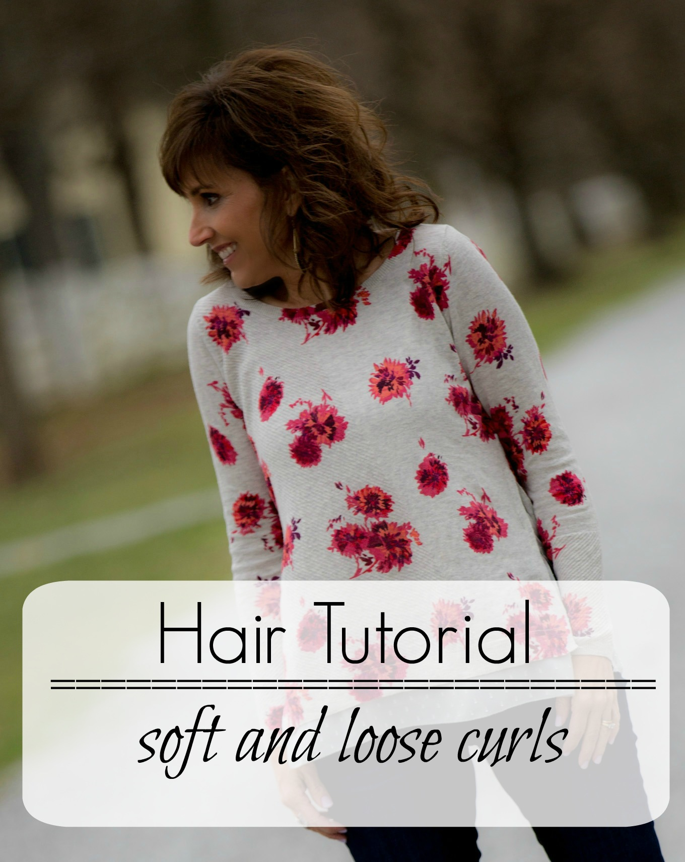 Fashion blogger, Cyndi Spivey, shares How To Add Soft Curls To Your Hair.