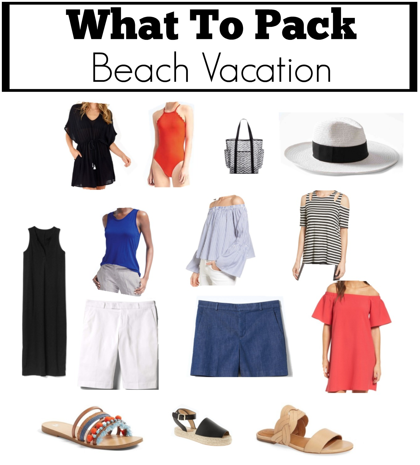 Beach VacationWhat to Pack  Cyndi Spivey