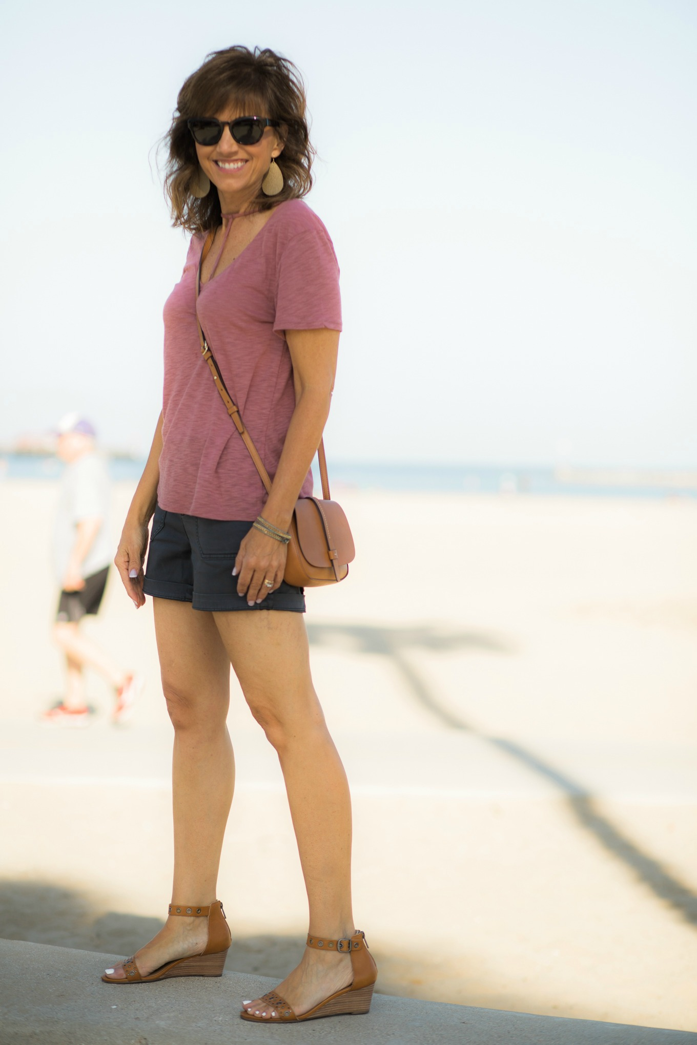 T-Strap Top + Shorts