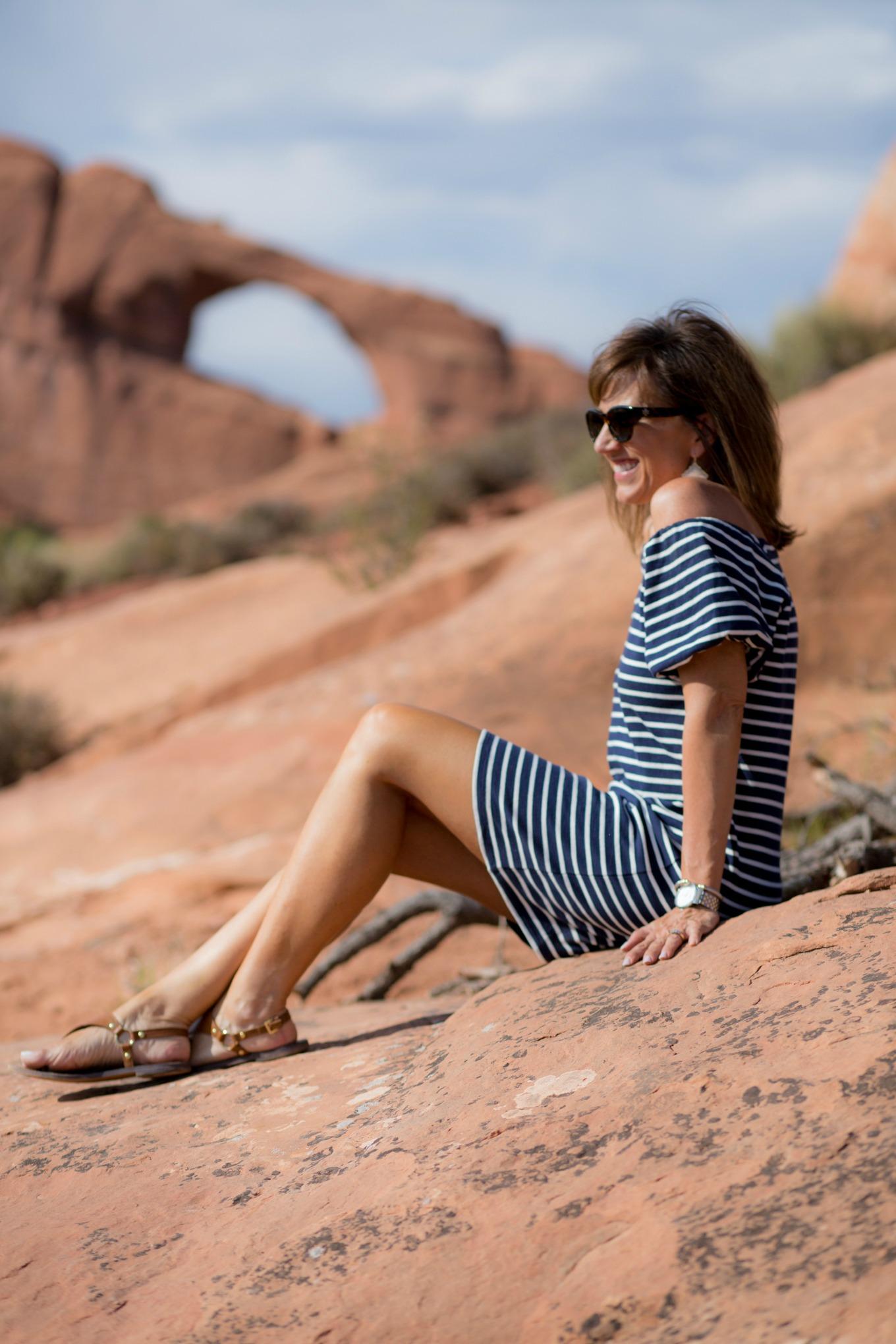 Casual Summer Stripe Dress