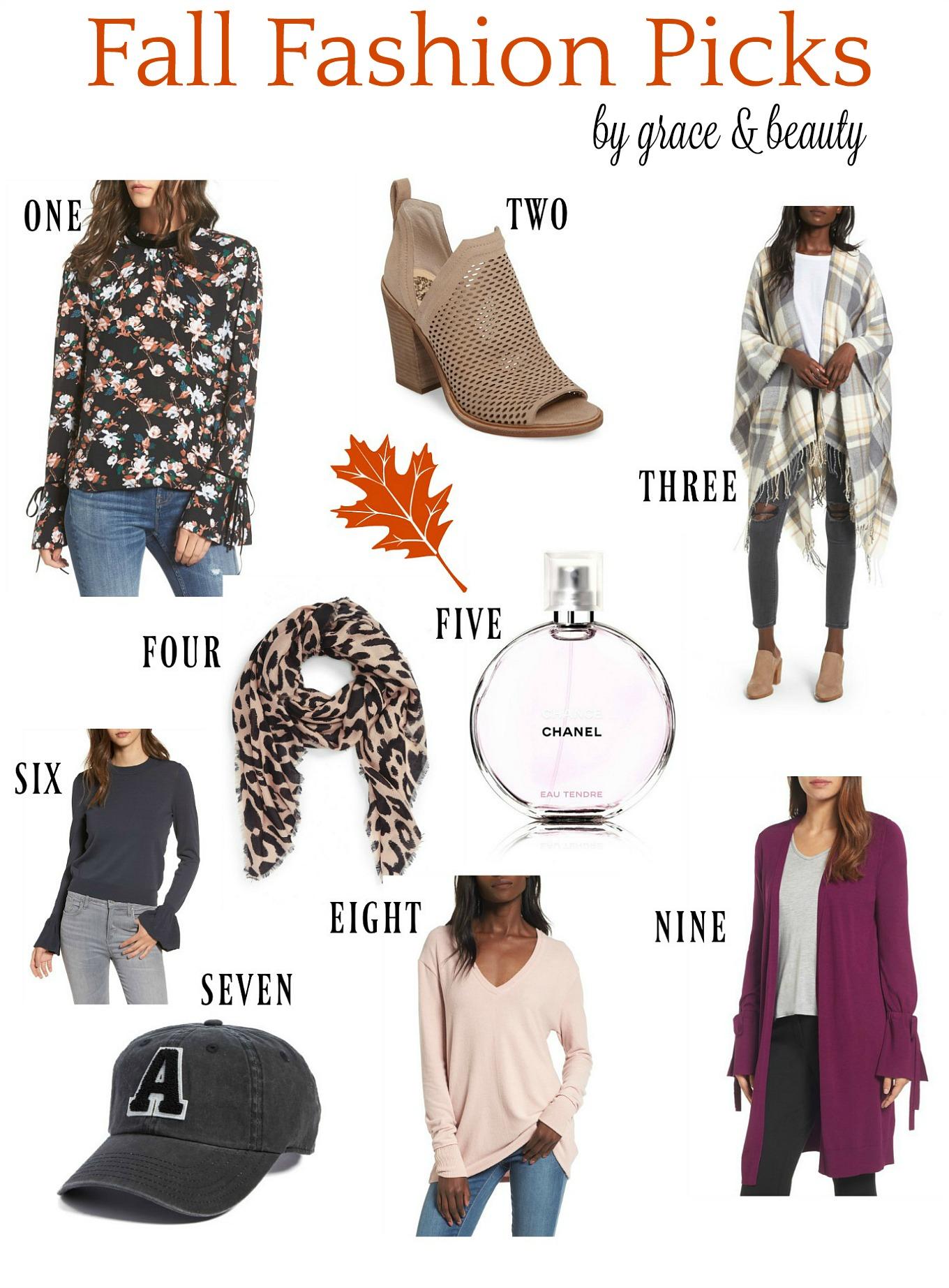 Fall Fashion Picks//Grace & Beauty
