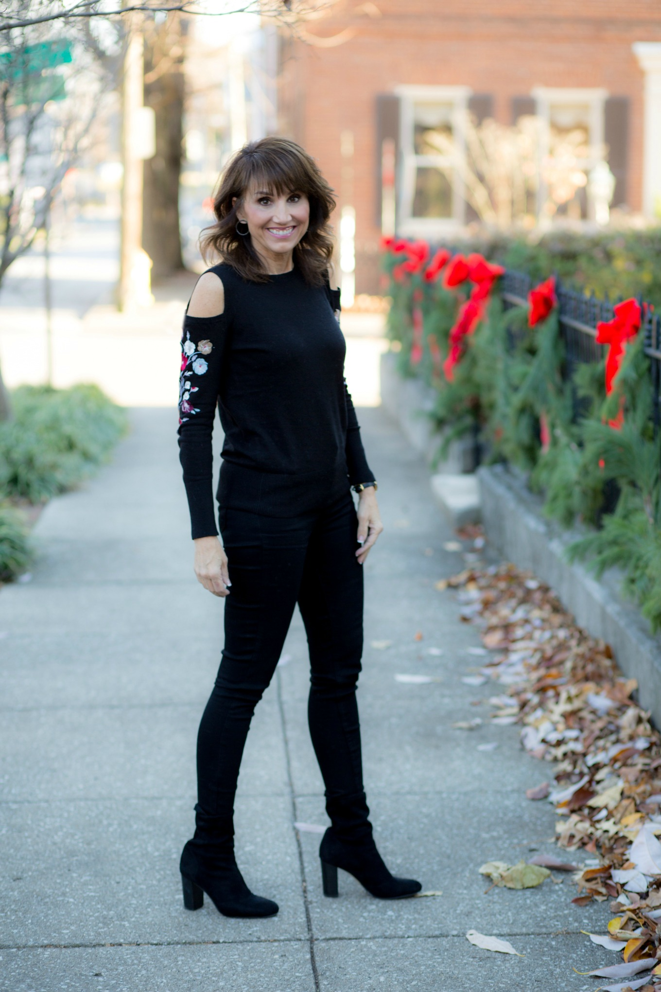 25 Days of Winter Fashion: Embroidered Sweater from LOFT