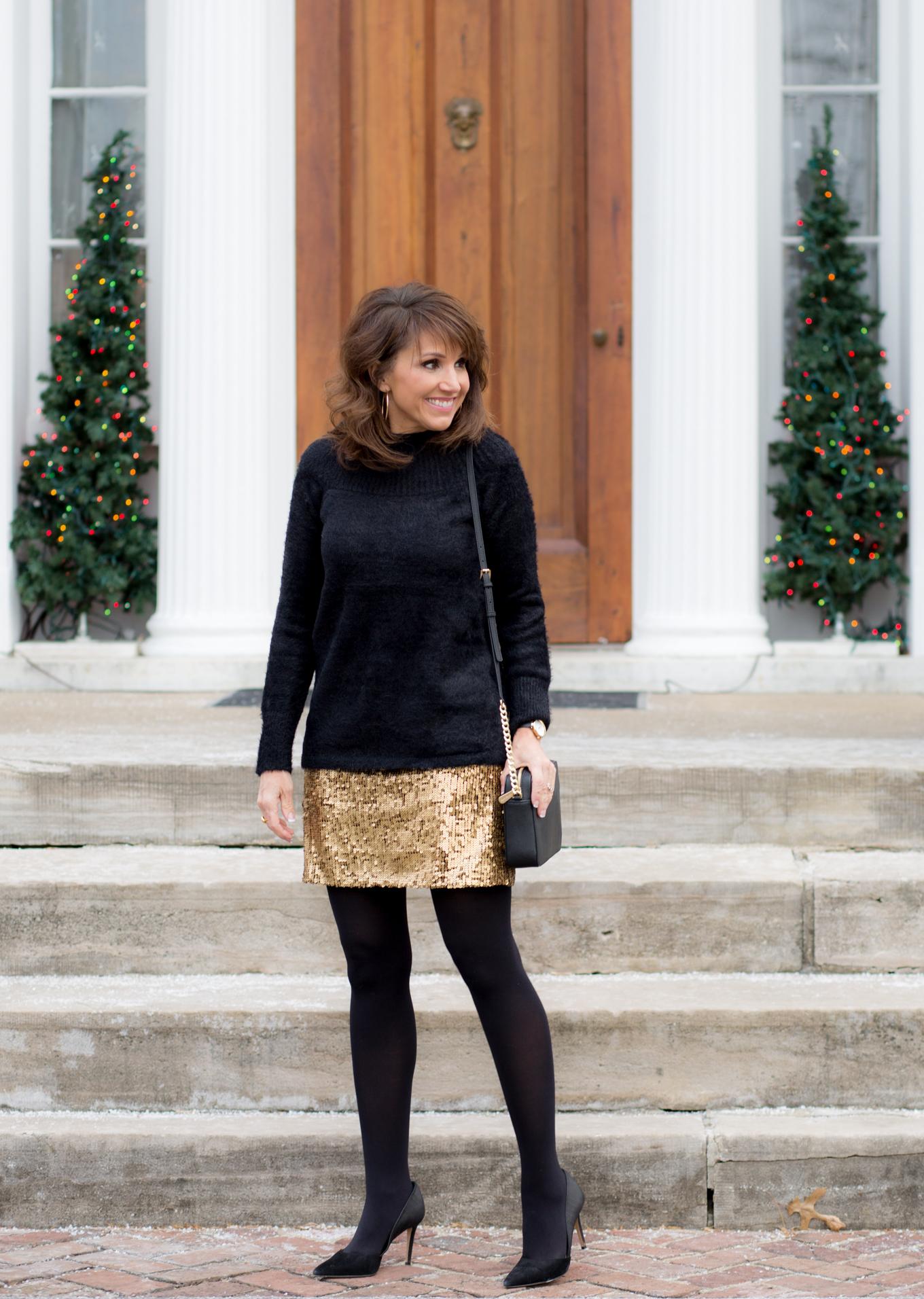 Buy > sequin skirt black tights - OFF 79% - Free delivery - visitpoconos.com