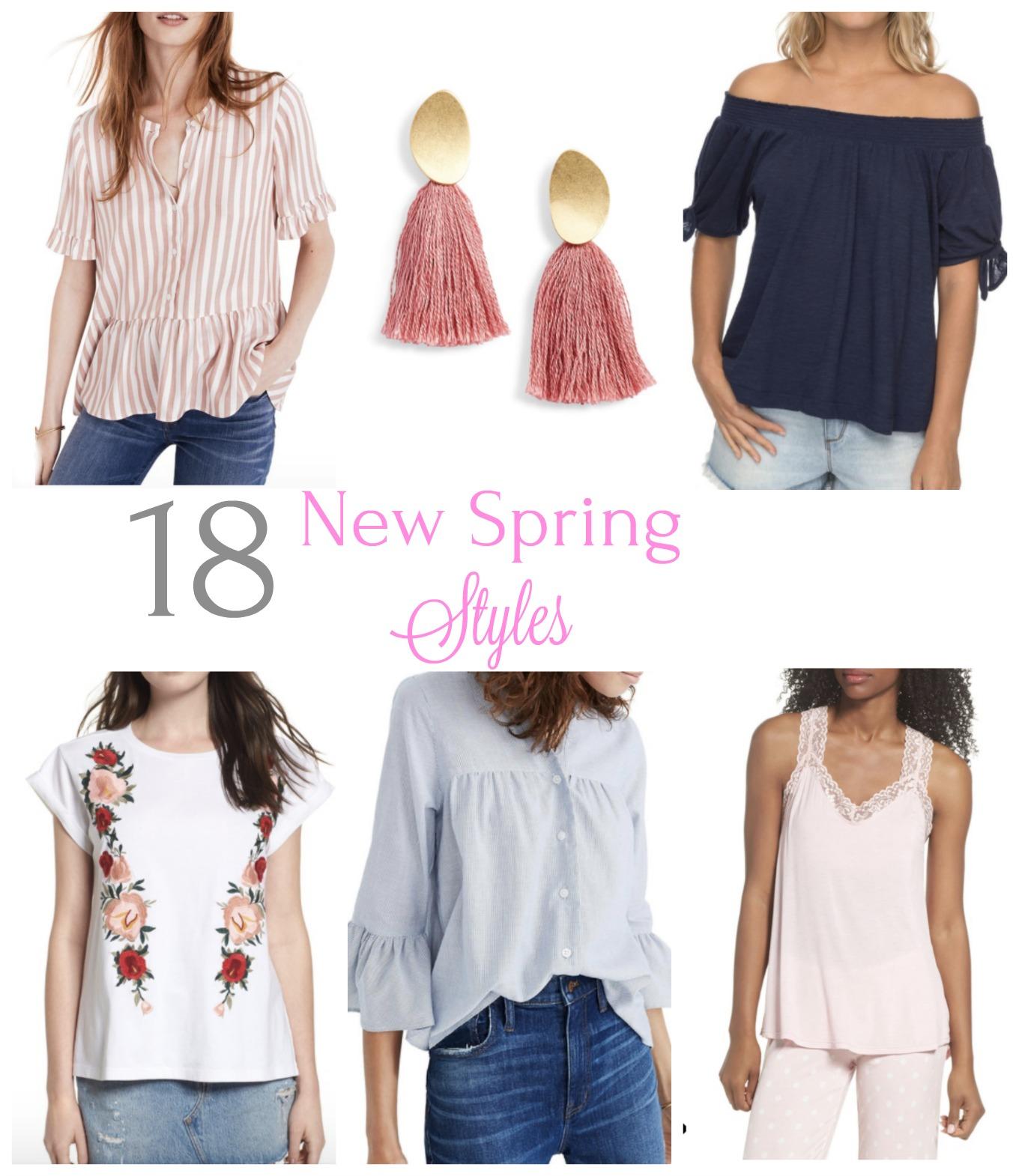 5 New Spring Styles - Cyndi Spivey