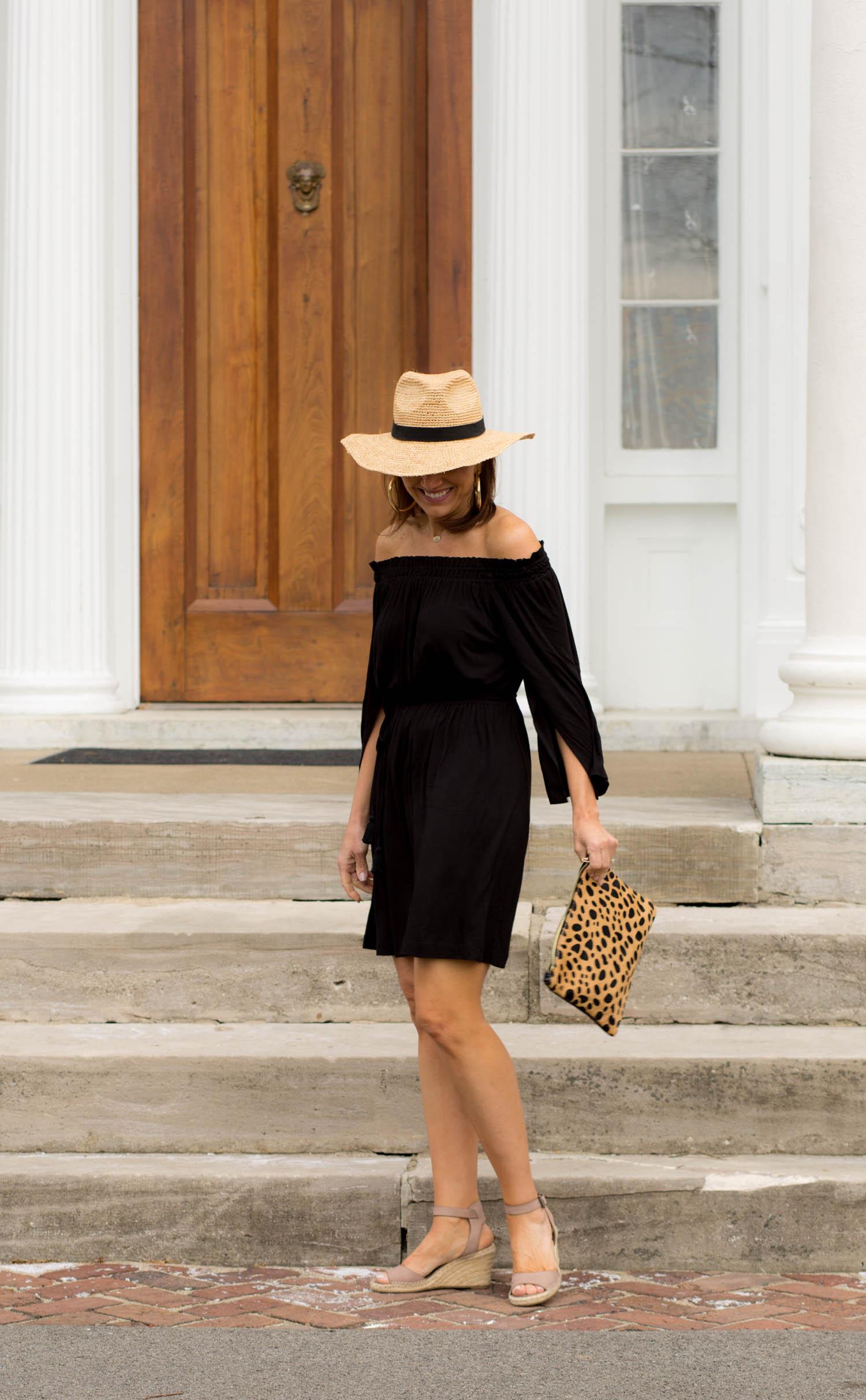 Off the Shoulder Dress-Spring Beach Wear
