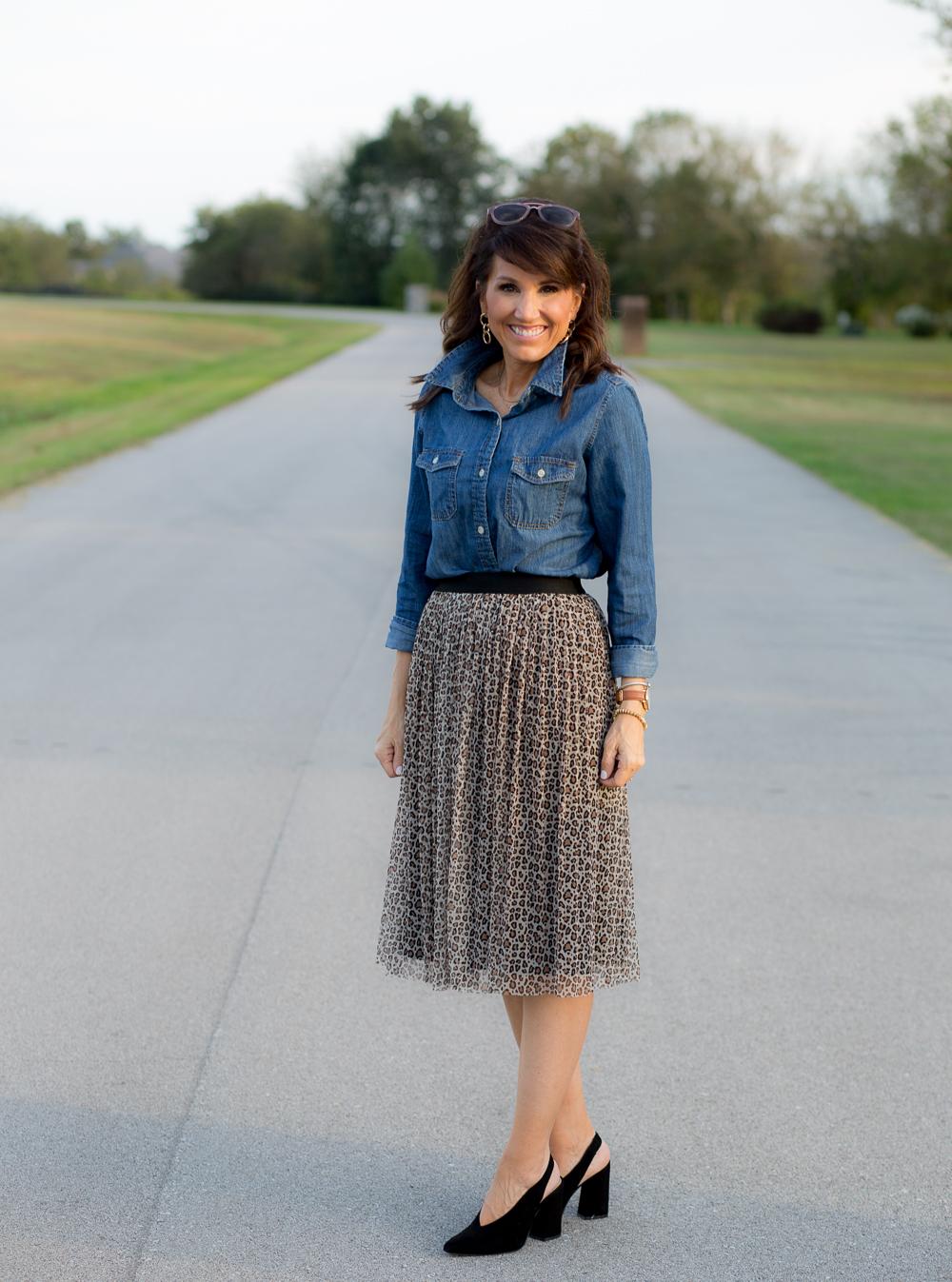 3 Ways To Dress Up A Denim Shirt