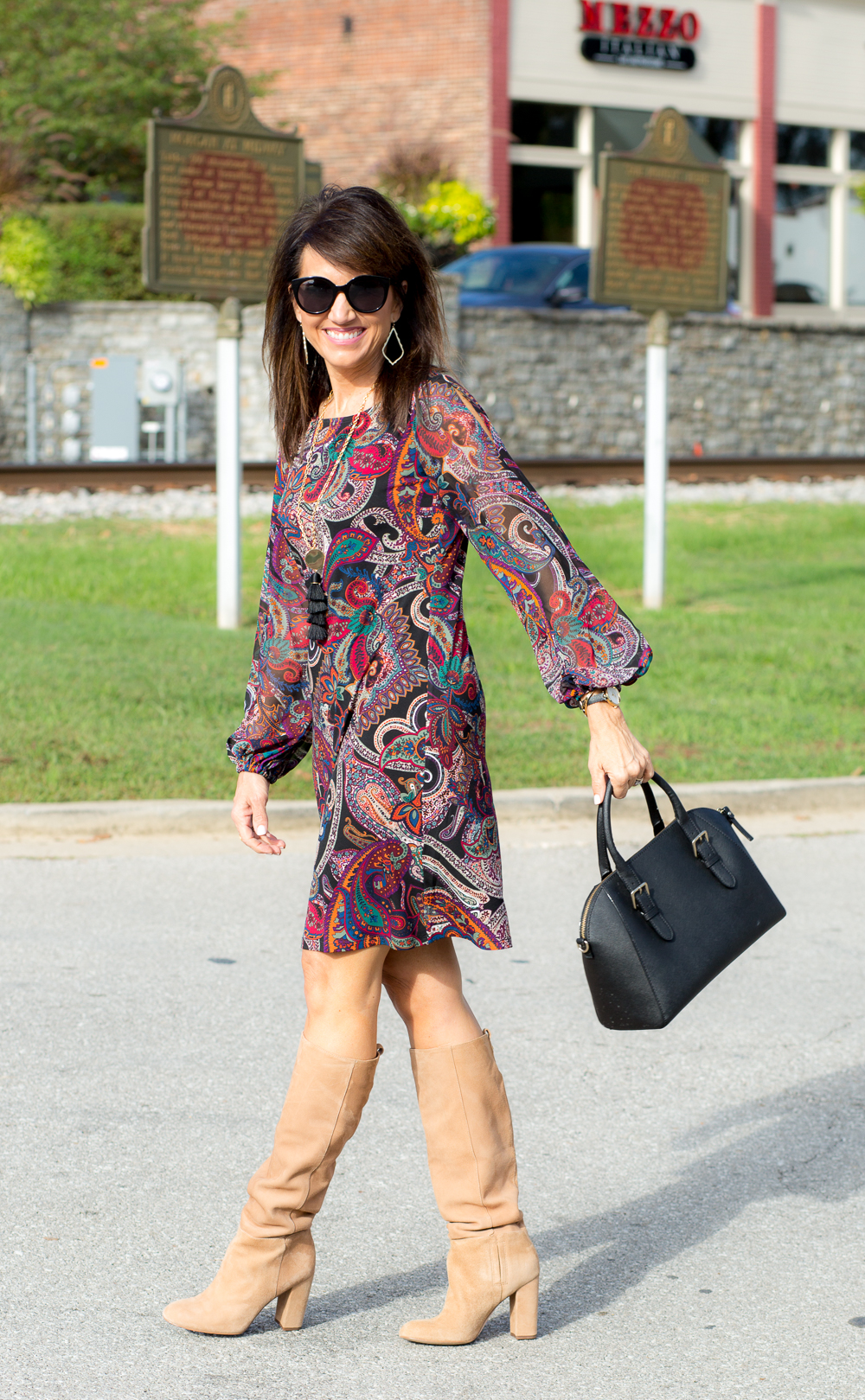 Paisley Shift Dress Under $50