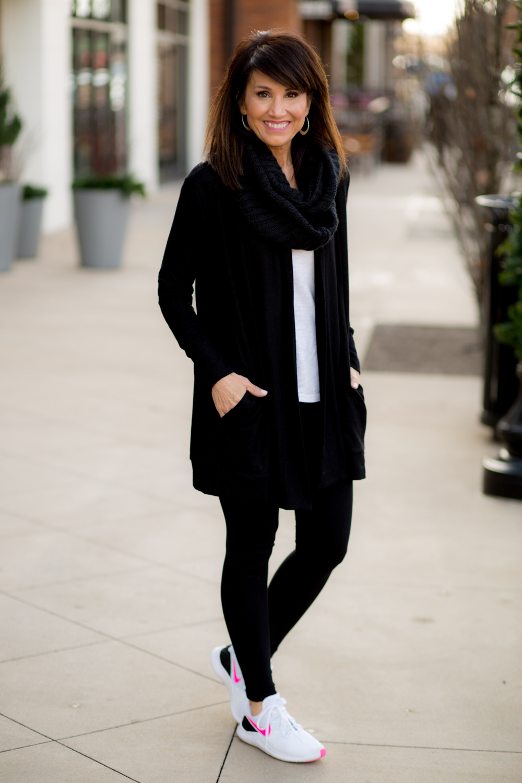 5 Ways to Wear a Black Cardigan