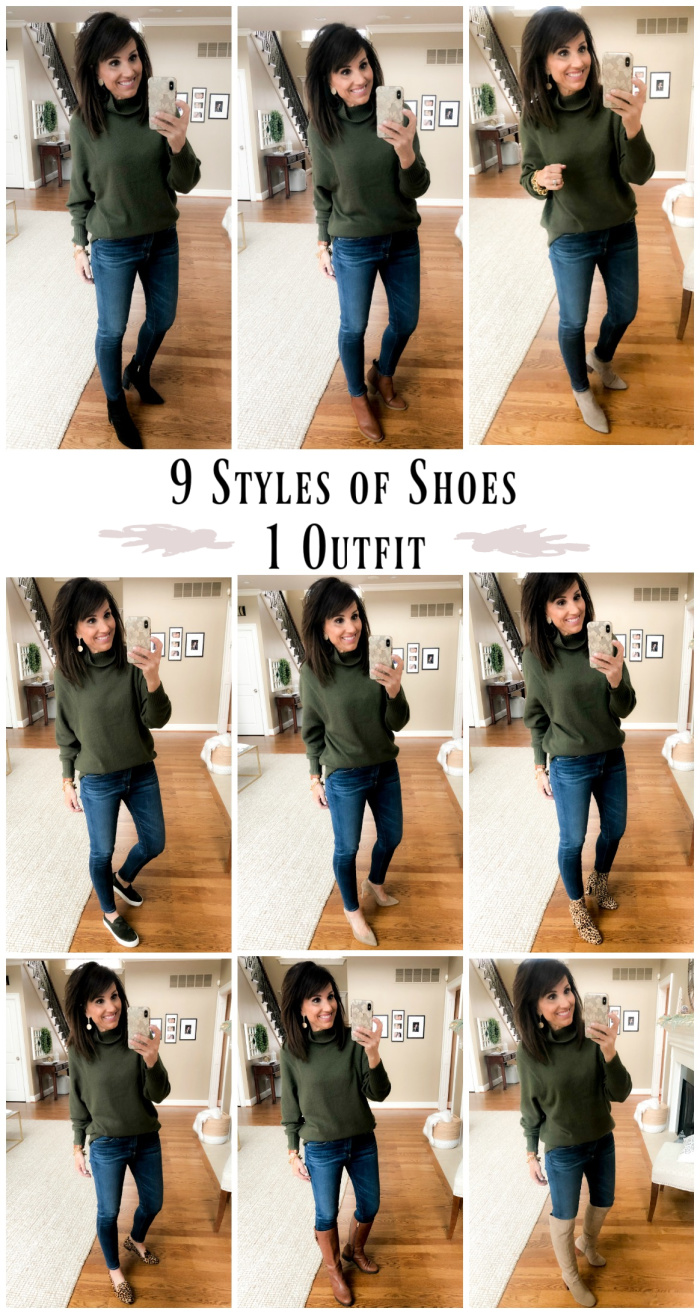 9 Styles of Shoes | One Outfit