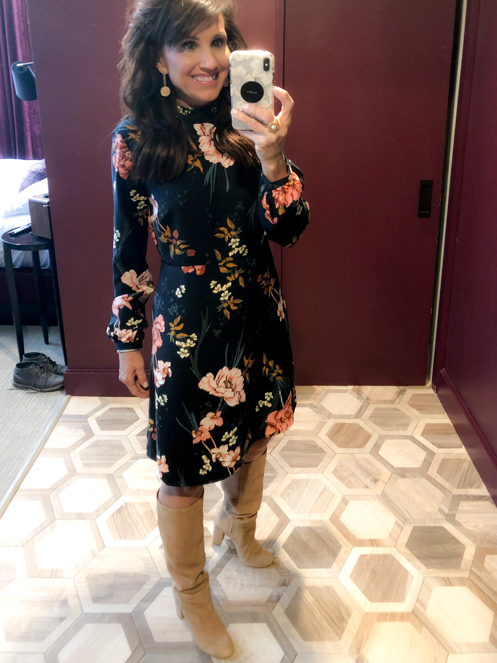 Floral Shift Dress from Amazon