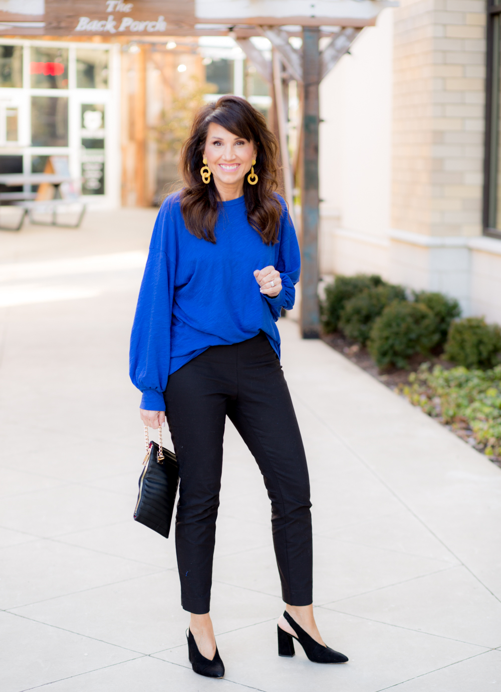 Royal Blue and Yellow From Social Threads